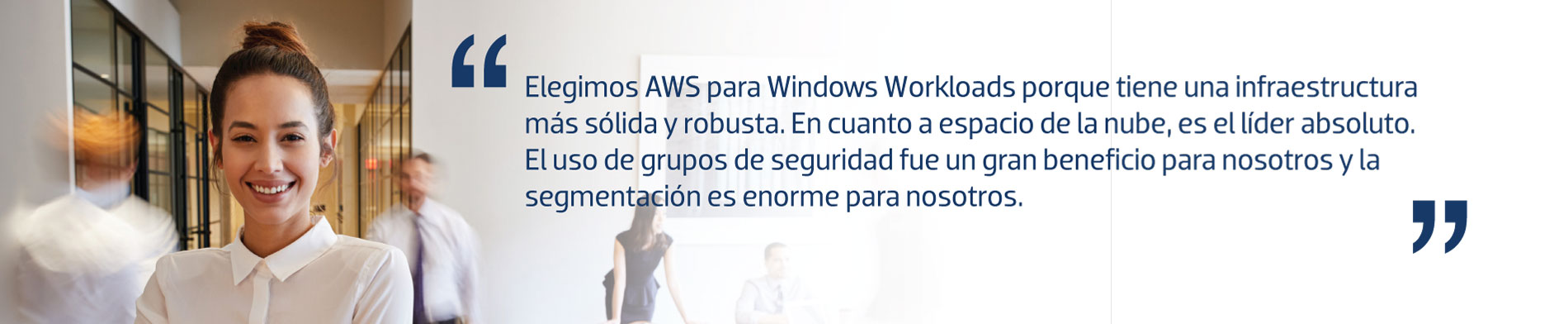 Microsoft workloads en AWS